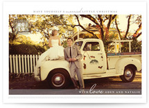 A Married Little Christmas Christmas Photo Cards