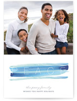 Peace and Quiet Christmas Photo Cards
