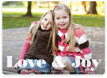 Love & Joy Christmas Photo Cards