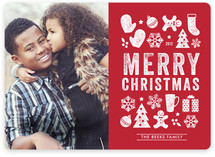 Christmas Dingbats Christmas Photo Cards