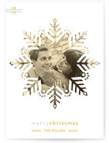 Freshly Fallen Christmas Photo Cards
