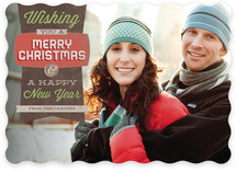 Simply Retro Christmas Photo Cards