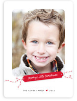 Merry Little Gift Tag Christmas Photo Cards