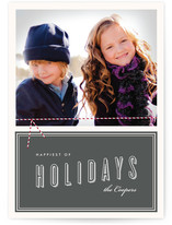 Twine and Vintage Christmas Photo Cards