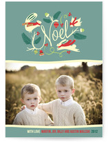 Woodland Noel Christmas Photo Cards