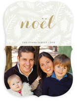 Winter Foliage Christmas Photo Cards
