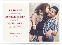 Merry Funny Christmas Photo Cards