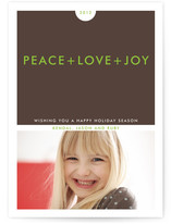 Simple+ Christmas Photo Cards
