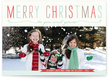 Be Light Christmas Photo Cards