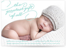 Greatest Gift Christmas Photo Cards