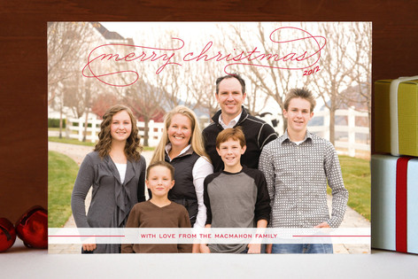 Gallery Classic Christmas Photo Cards