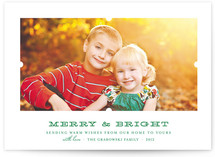 Notch Christmas Photo Cards