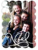 Simply Noel Christmas Photo Cards