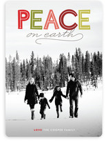 Modern Headline Christmas Photo Cards