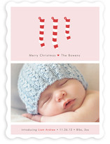 A New Stocking Christmas Photo Cards