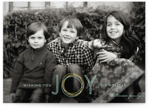 Holiday Joy Christmas Photo Cards