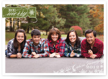 Be Merry Christmas Photo Cards
