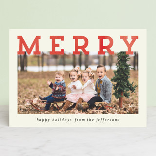Merry and Silly Christmas Photo Cards