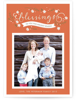 Blessings to You Christmas Photo Cards