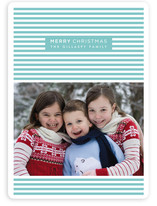 Merry Stripes Christmas Photo Cards