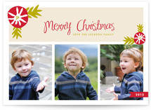 Mistletoe Merry Christmas Photo Cards