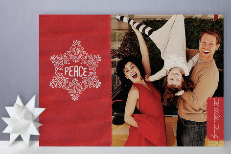 Common Thread of Peace Christmas Photo Cards