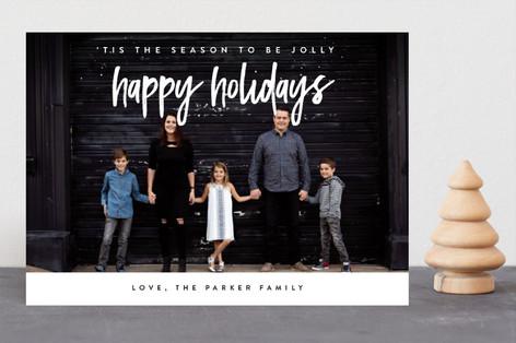 Glory Glory Hallelujah Christmas Photo Cards