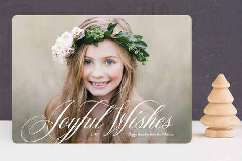 Symphonic Christmas Photo Cards