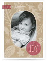 Winter Kraft Christmas Photo Cards