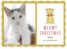 Meowy Christmas Christmas Photo Cards