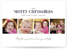 Dashing Christmas Photo Cards