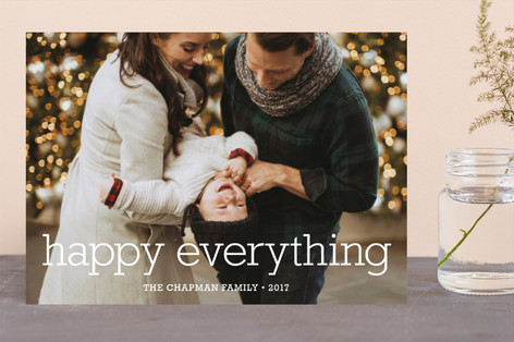 Happy Everything Christmas Photo Cards