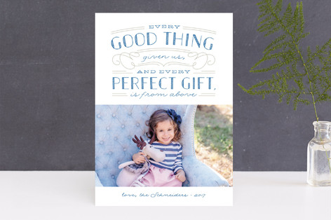 Perfect Gift Christmas Photo Cards