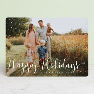 Simply Splendid Christmas Photo Cards