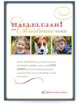 Hallelujah Christmas Photo Cards