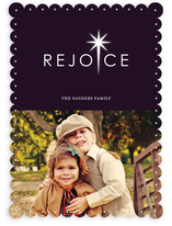 Rejoice Christmas Photo Cards