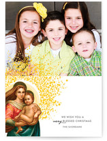 Madonna & Child Christmas Photo Cards