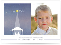Nativity Christmas Photo Cards