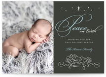Baby Jesus Christmas Photo Cards