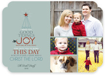 Good Tidings of Joy Christmas Photo Cards