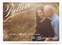 Miracles of the Season Christmas Photo Cards