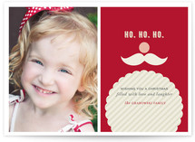 Joyeux Noel + St. Nick Christmas Photo Cards