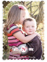 Medallion Christmas Photo Cards