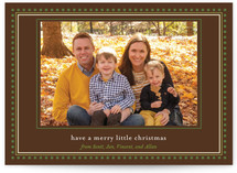Happy Dot Christmas Photo Cards