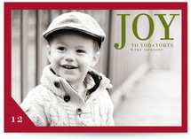 Float + Joy to You Christmas Photo Cards