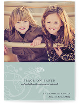 Modern Holiday Christmas Photo Cards