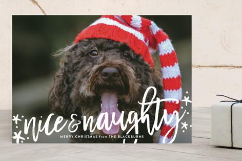 Both Lists Christmas Photo Cards