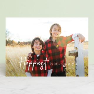 canoli Christmas Photo Cards