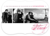 Love &amp; Happiness Christmas Photo Cards