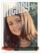 Merry Bright Cheer Christmas Photo Cards